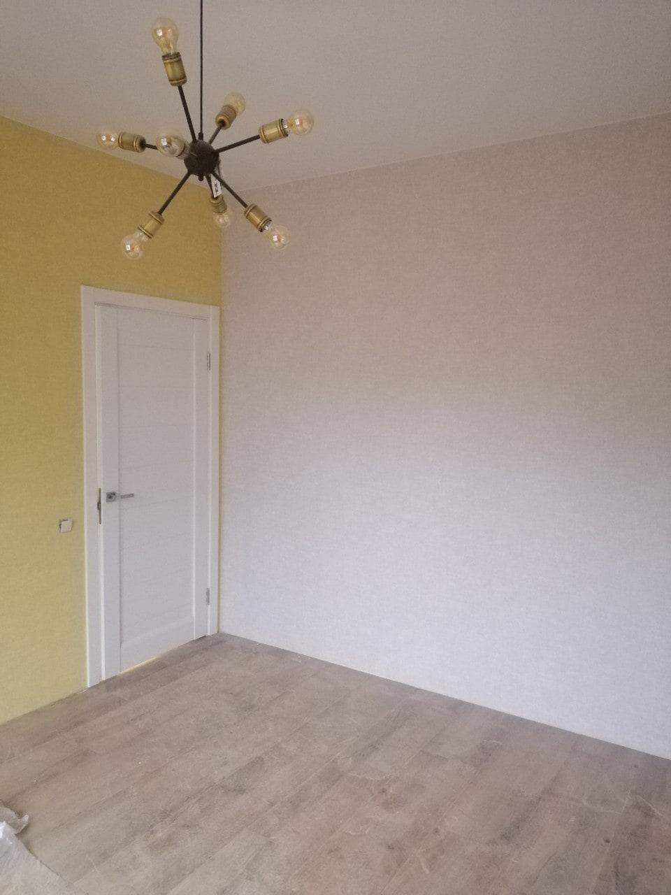 Фото покраски стен компанией по ремонту квартир