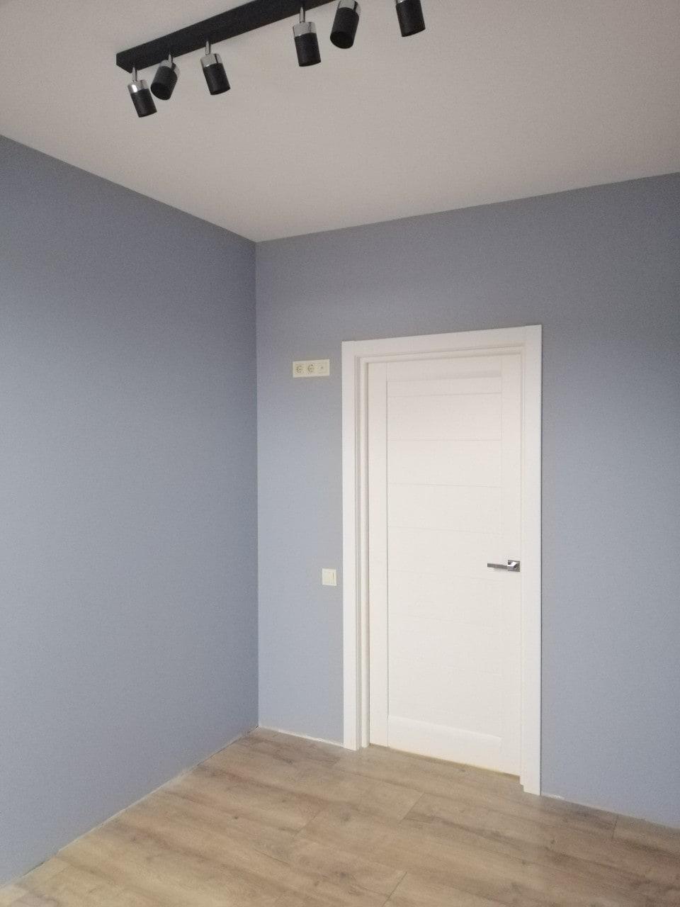 Фото покраски стен в косметическом ремонте