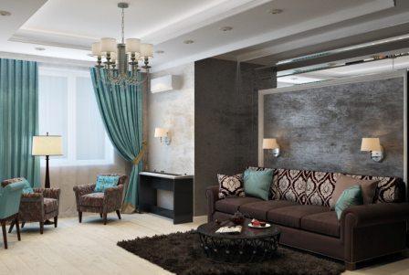 Фото дизайнерского ремонта квартиры