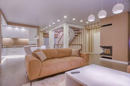 Ремонт квартиры в светлых тонах